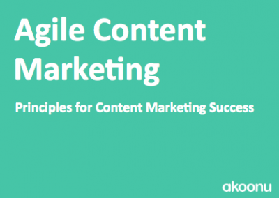 [eBook] Agile Content Marketing