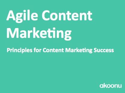 [eBook] Agile Content Marketing