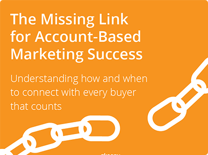 [eBook] The Missing Link for Account-Based Marketing Success