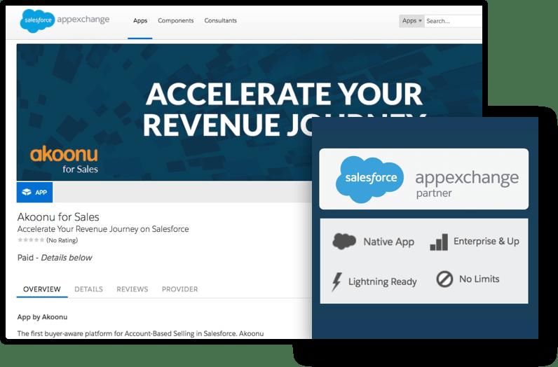 Akoonu on the Salesforce AppExchange