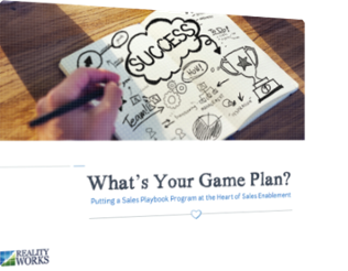 Reality Works What's Your Game Plan eBook